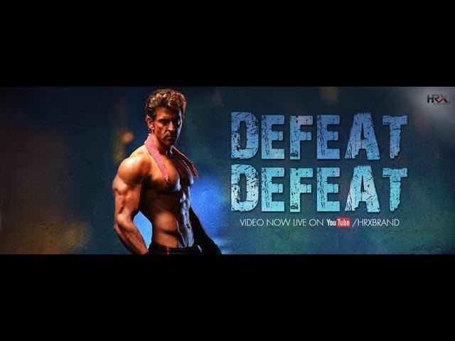 Defeat Defeat Brand Film | HRX By Hrithik Roshan. RUS SUB | Мотивационное видео от Ритика Рошана
