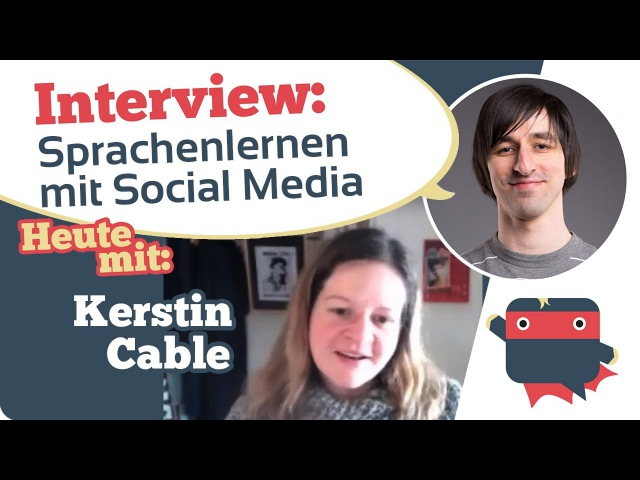 Interview mit Kerstin Cable von fluentlanguage.co.uk, Social Media für Sprachenlernen