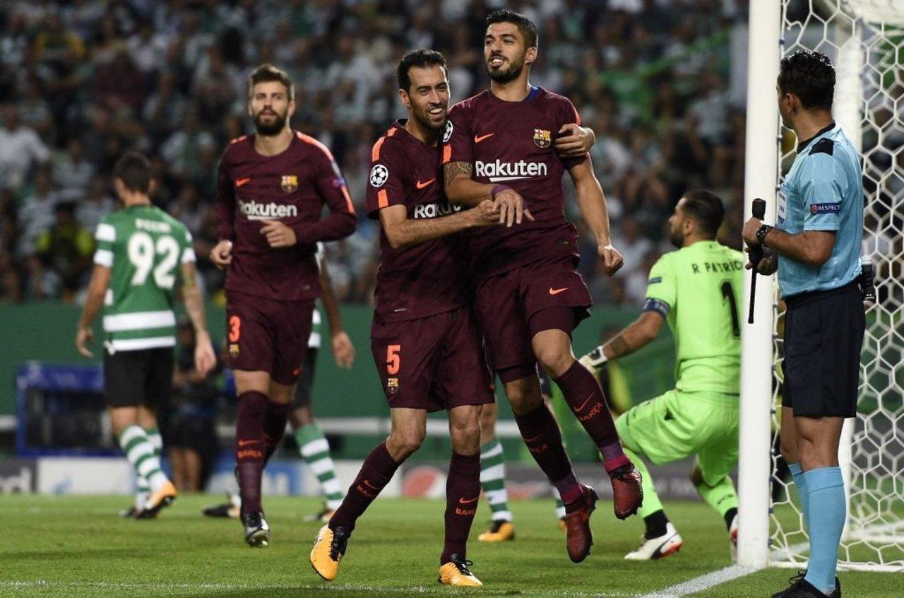 134. Sporting CP (POR) - FC Barcelona (ESP) 0:1