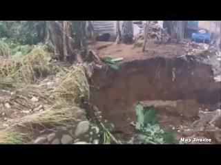 Массивная воронка открылась в Буренде, Доминиканская Республика