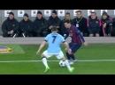 Leo Messi Nutmeg vs City - Guardiola Reaction