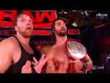 Dean Ambrose &amp  Seth Rollins(c) vs Luke Gallows &amp Karl Anderson