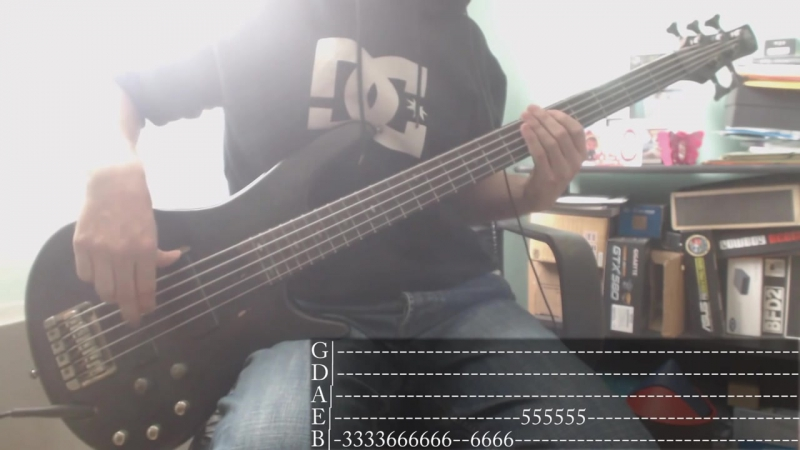 Nu Metals week 05 Papa Roach Between Angels And Insects Bass Cover Tab