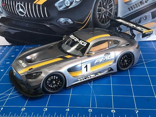 Building the Tamiya 1 24 Mercedes AMG GT3 Step by step