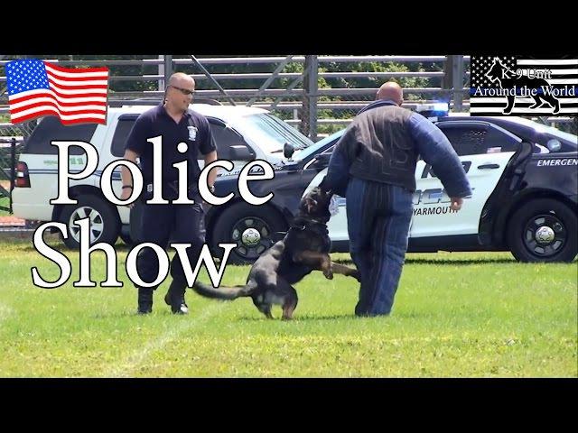 Barnstable Police K-9 Unit - Demonstration K9 Show