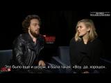 AVENGERS_ AGE OF ULTRON Interviews with Aaron Taylor Johnson  Elizabeth Olsen Rus Sub