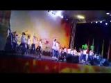 День города. Анапа 2017. Луна-Парк выступление на Театральной площади. Город уличных танцев.