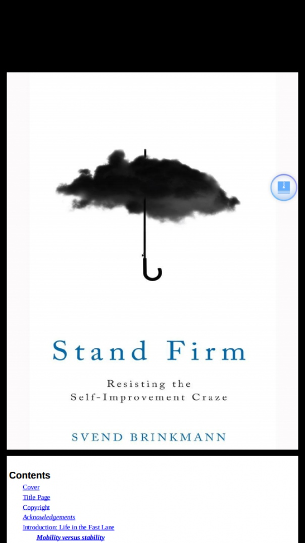 stand firm resisting the self-improvement