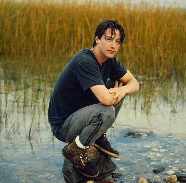 Киану Ривз в объективе Деборы Файнголд, 1989
