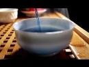 Анчан, синий чай из Таиланда - по пиалам