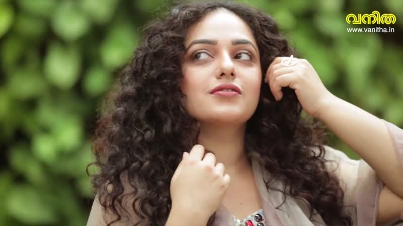 നക്ഷത്ര കണ്ണുള്ള രാജകുമാരി Nithya Menen Vanitha Cover Shoot