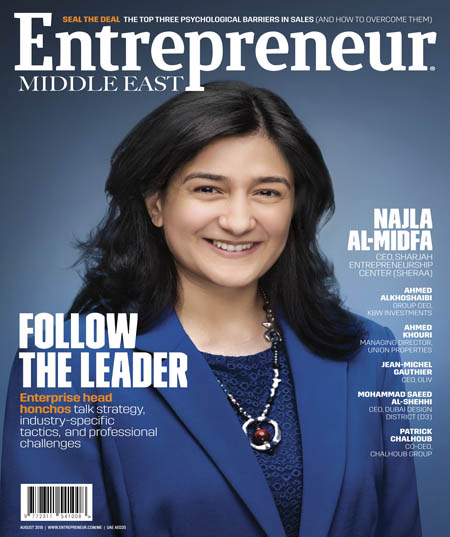 Entrepreneur Middle East August 2018