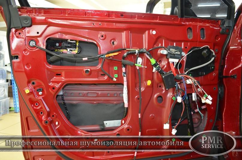 Комплексная шумоизоляция Lexus RX, изображение №16