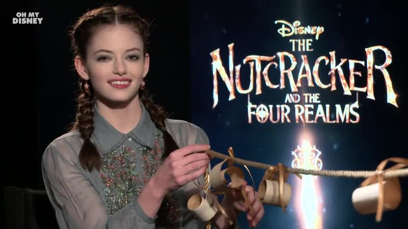 Mackenzie Foy Answers Questions From a Magical String Oh My Disney