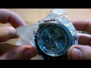 Неубиваемые часы AMST способны работать даже при заморозке. Экстремальный тест  (часы охота рыбалка )