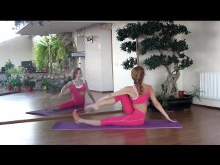 Гибкое тело - Зарядка или разминка - Зарядка для позвоночника. Как избавиться от болей в спине _ Exercises for the Sp