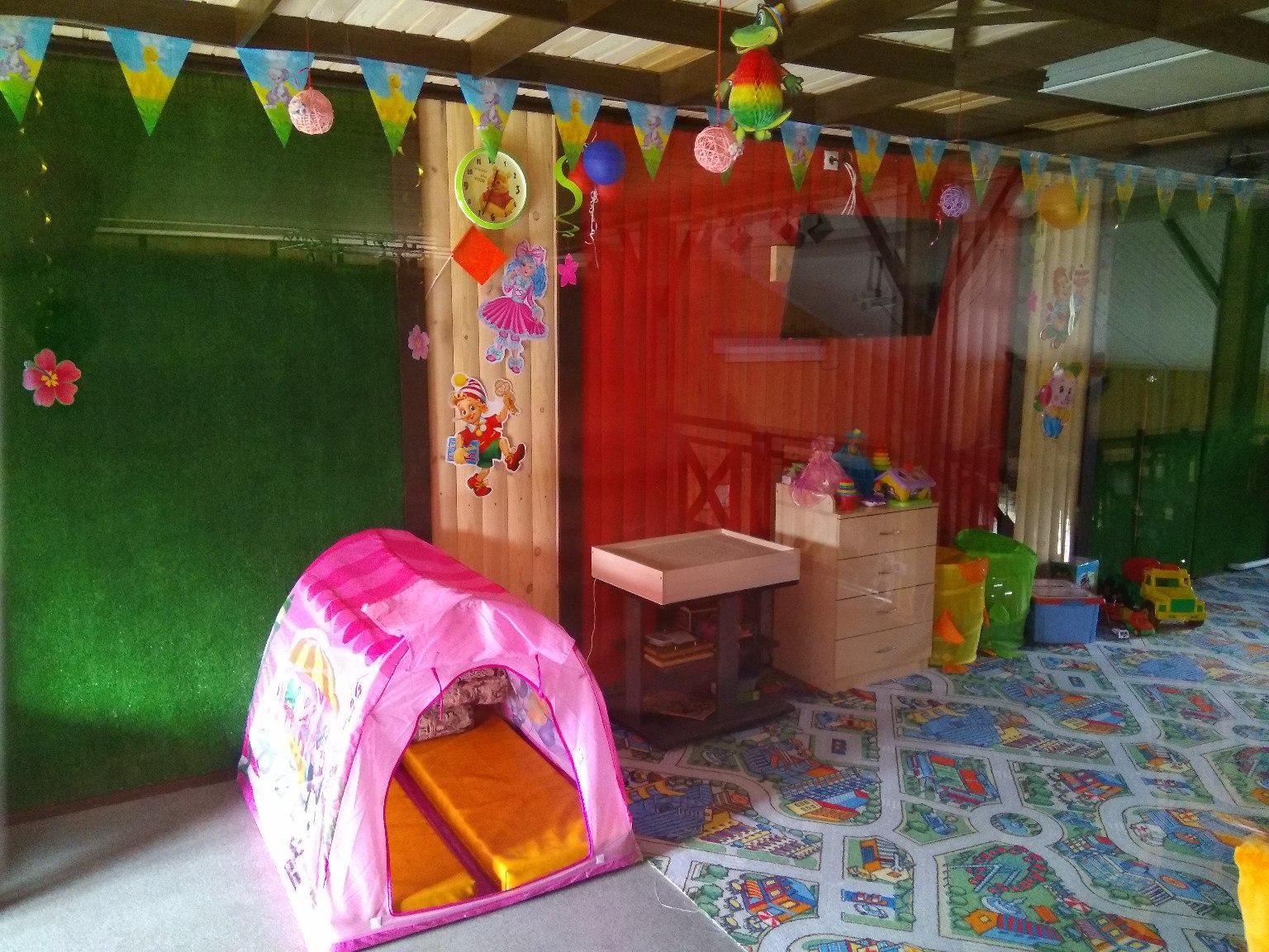 Ергуша. Детская игровая комната на базе Ергаки