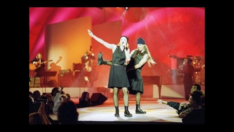 Madonna Anthony Kiedis - The Lady is a Tramp (Live at 1000º Arsenio Hall)