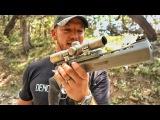 Огромный револьвер с крохотными патронами!  Разрушительное ранчо  Перевод Zёбры