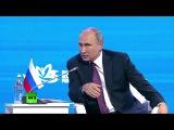 Если всякие умники из американских структур не помешают Путин о сотрудничест...