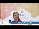 Maria Samoila about CISOLAR 2015 Baku