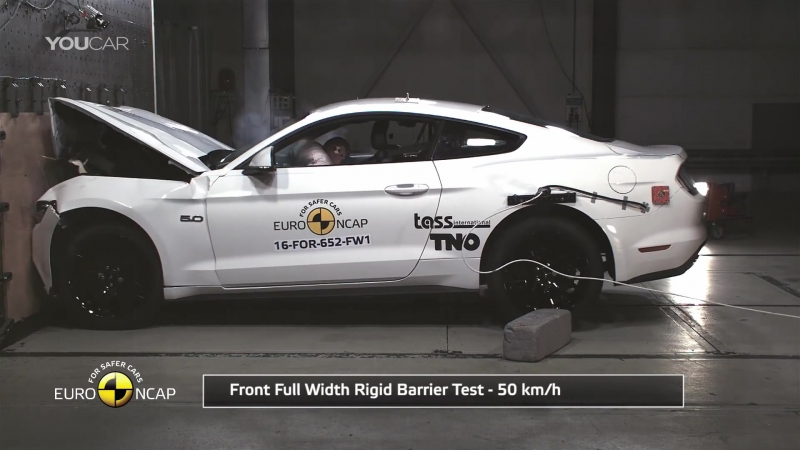 Ford Mustang 2017 [EU] Bad Result to Crash Test (EuroNCAP)