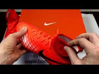 Футбольные бутсы Nike Magista Obra II FG 844595-806. Unboxing и обзор