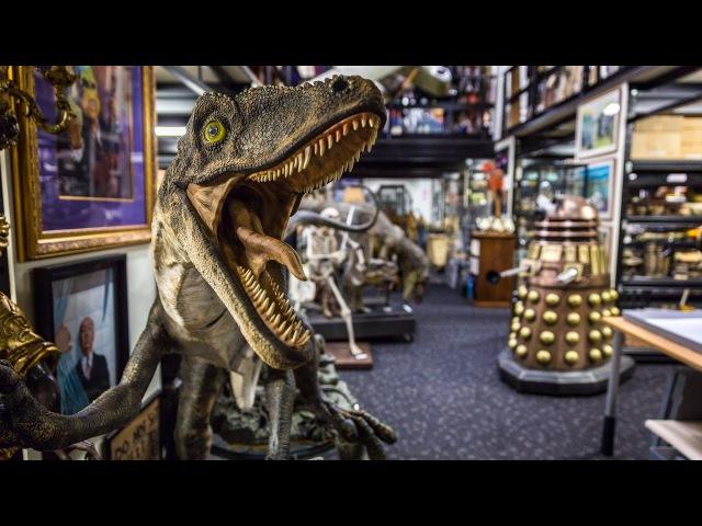 Adam Savage Tours Peter Jackson's Movie Prop Collection!
