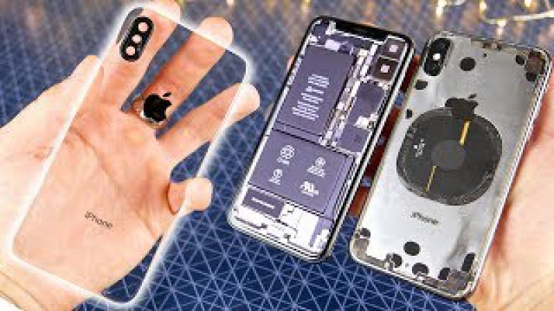 Обои Прозрачный Экран Iphone X
