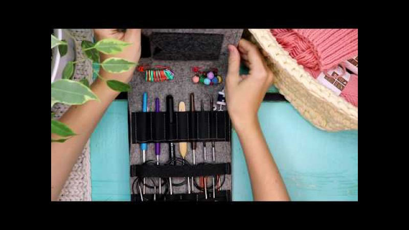 КАК Я БЕЗ НЕГО ЖИЛА 😱ЧЕХОЛ для спиц и крючков🎈 Вязание Knit Mom