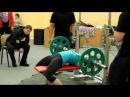 Юлия Зауголова - русский жим 45 килограммов на 50 раз