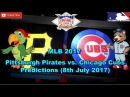 MLB The Show 17 Pittsburgh Pirates vs. Chicago Cubs Predictions MLB2017 (8 th July 2017)