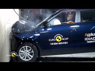 Euro NCAP Crash Test of SsangYong Tivoli
