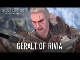 SOULCALIBUR VI - PS4/XB1/PC - Geralt of Rivia (Guest character announcement trailer)