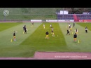 Passing Combination Drill like FC Barcelona