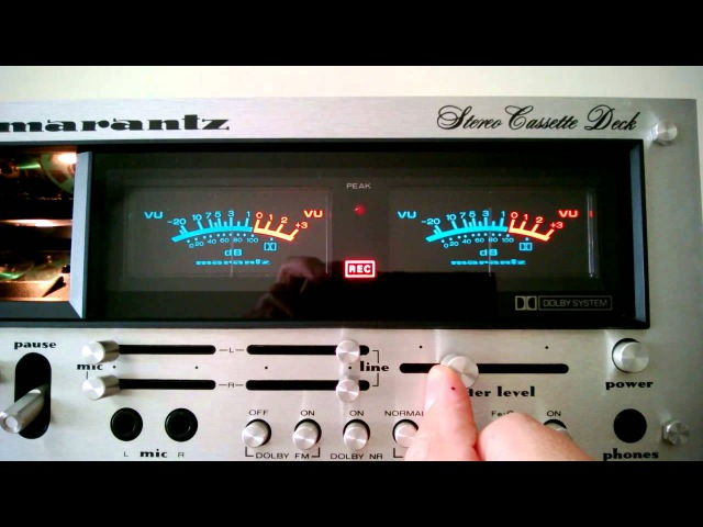 Marantz 5220 vintage cassette tape deck! Quit recording on your POS boombox!