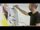 How to paint like Willem de Kooning – Part 2 – with Corey DAugustine IN THE STUDIO