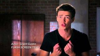 The Flash - See Grant Gustin Screen Test [HD]