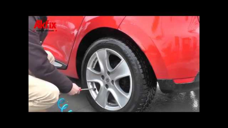 How To use a Akfix R60 Tyre Repair Kit