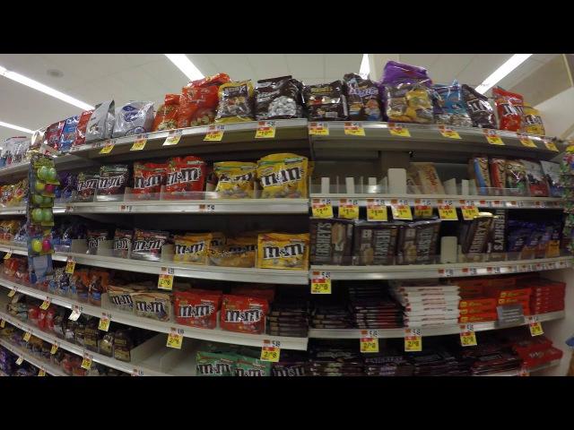Запрет на съемку в США Supermarket in Provincetown MA USA Путешествие по Америке 10 2017