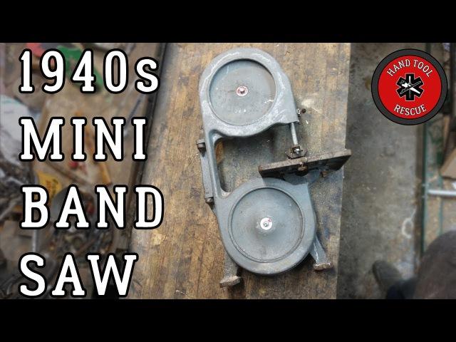 1940s Mini Band Saw [Restoration]