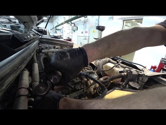 Тойота Цент Люберцы LC150 Замена свечей на моторе 1GR FE V6 4L