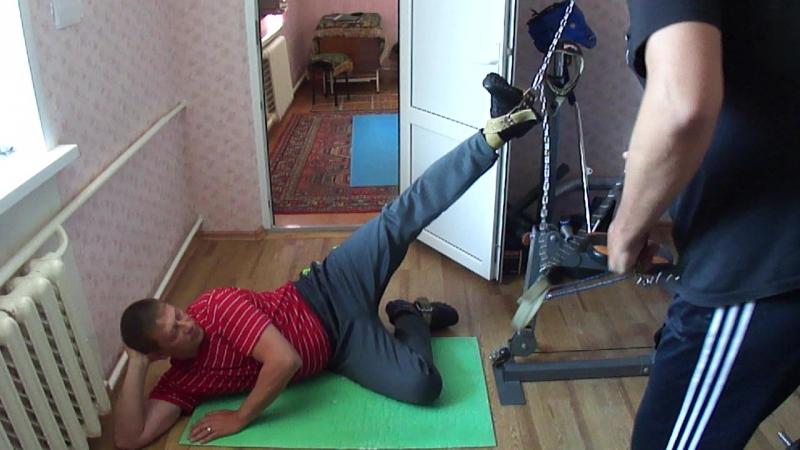 11 Тяга со скрутом левой ногой Клиент с обычными проблемами