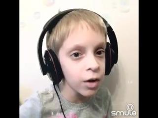 """Мальчик сделал кавер на трек Feduk - """"Хлопья летят наверх"""" NR"""