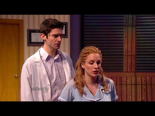 Jessie Mueller and Drew Gehling Bad Idea Waitress