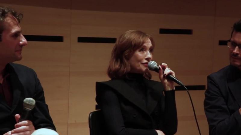 Isabelle Huppert and Serge Bozon NYFF Live Making Mrs Hyde NYFF55