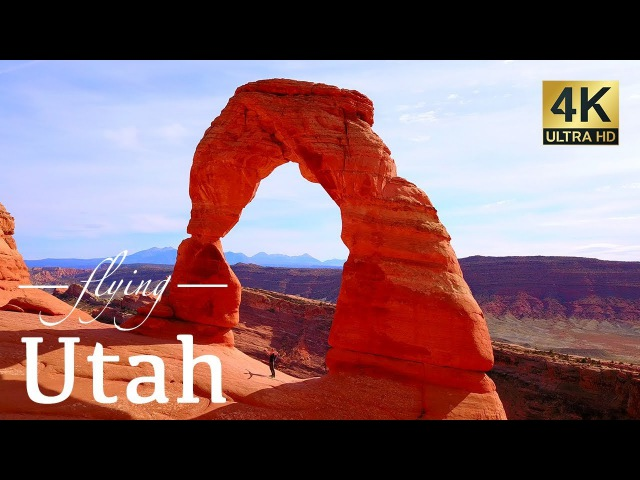 Utah By Drone - Zion, Moab, Bryce Canyon, Devils Garden Arches National Park