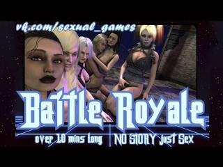 Battle royale (mass effect, dc comics, dead or alive, xena warrior princess sex)