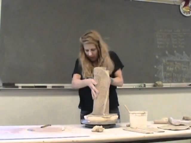 Handbuild Teapot Part 1