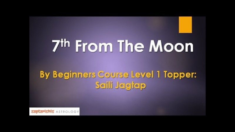 7th From The Moon Research By Beginners Course Level 1 Topper Saili Jagtap